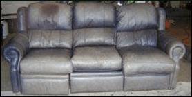 Leather Pros Inc Damaged Sofa