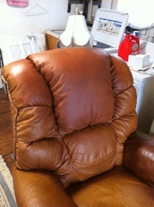 Leather Pros Inc Repaired Chair