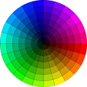 Color Tone Wheel